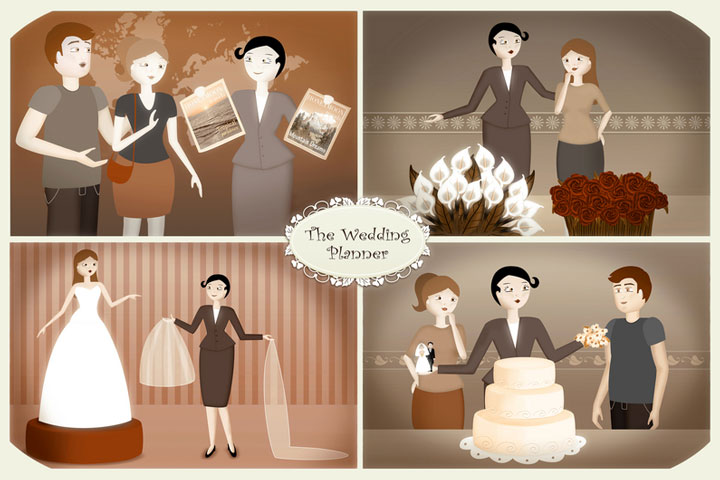 Wedding planner vs designer vs coordinator no they are not the wedding planner junglespirit Gallery