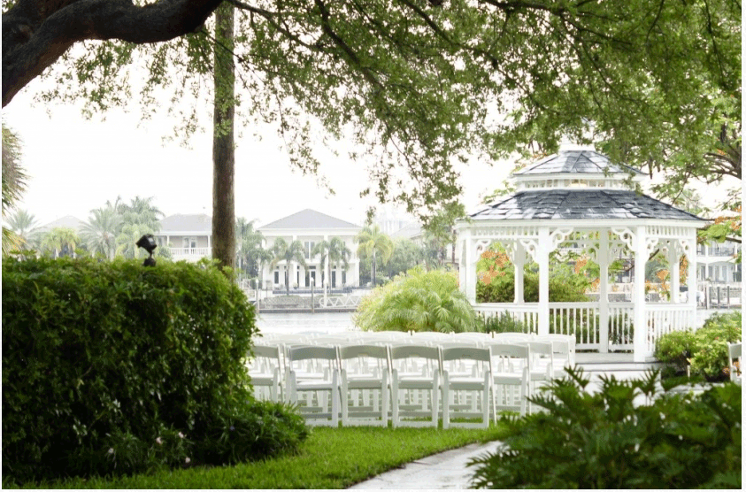 Venue Love Davis Islands Garden Club Tampa Florida Wedding