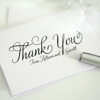 Tip Of the Day: Do Not Procrastinate On Your Thank You Cards. (Tampa Wedding Planners)