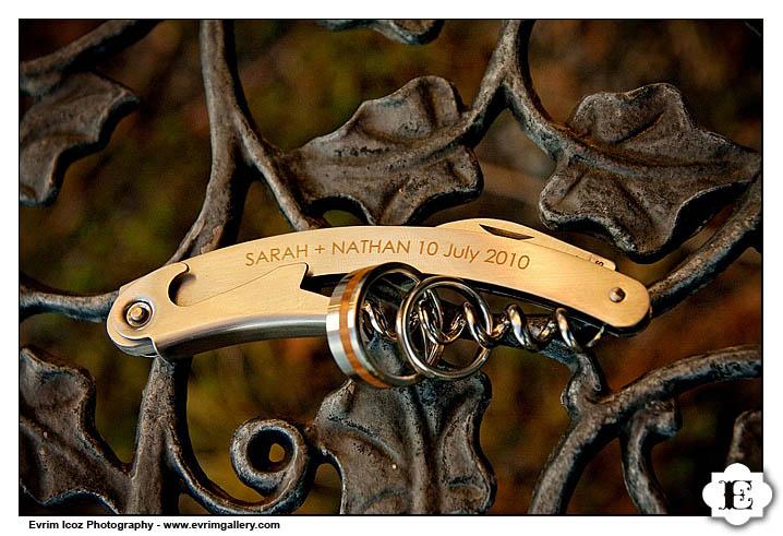 Wine opener Wedding favor