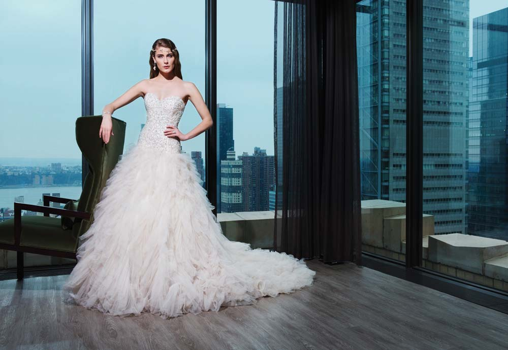 Luxurious Wedding Gown By Justin Alexander Tampa Bridal Shop