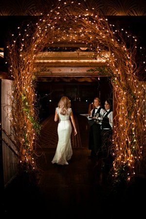 Reception Entrance, Wedding Fall Inspiration