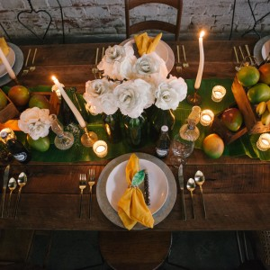 Wedding tablescape design by tampa wedding planner