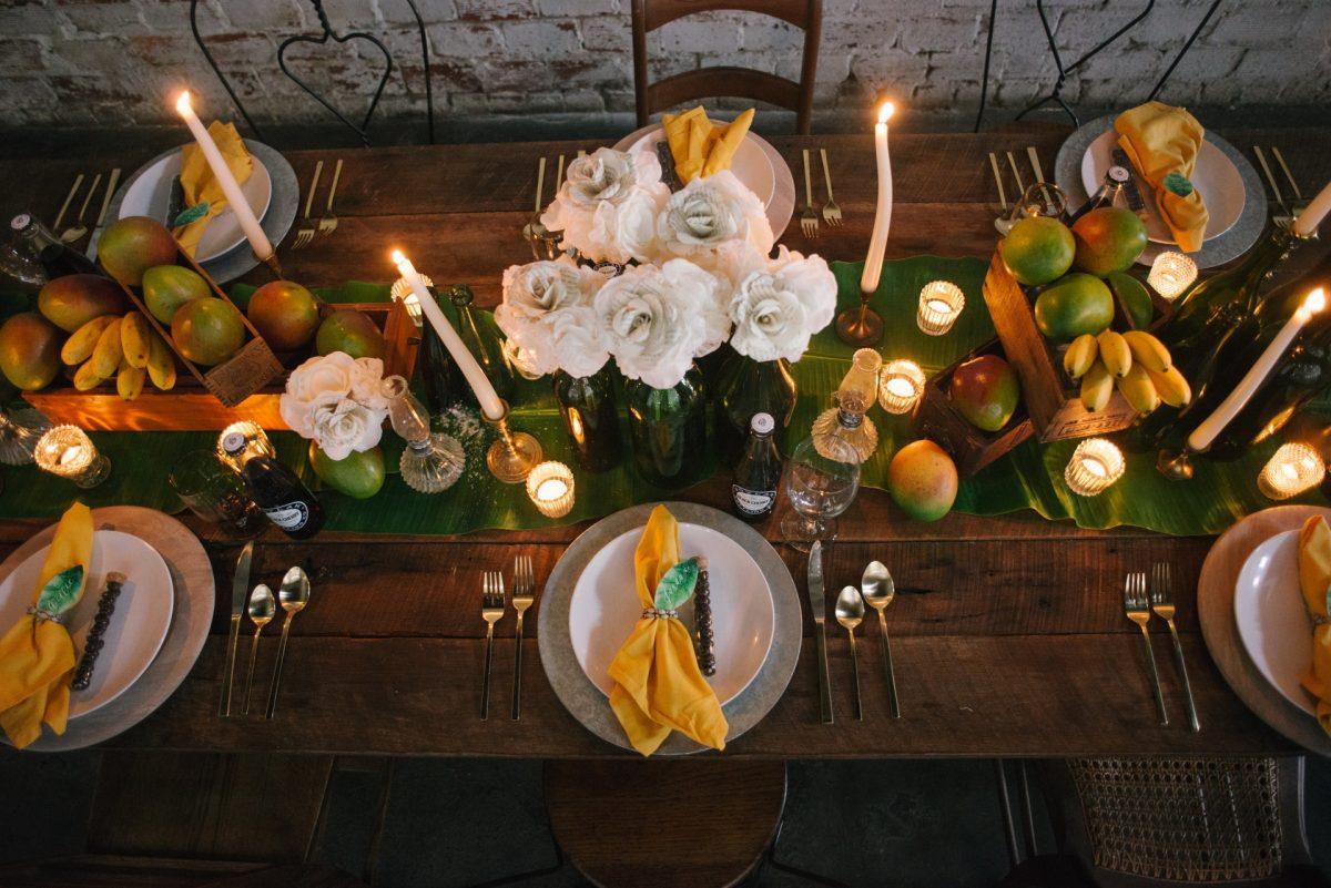 rialto theatre tampa. Wedding tablescape design by tampa wedding planner, Tampa Artisan Wedding