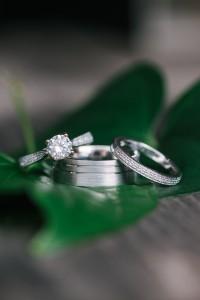 MiaDonna wedding ring for a Tampa bay bride
