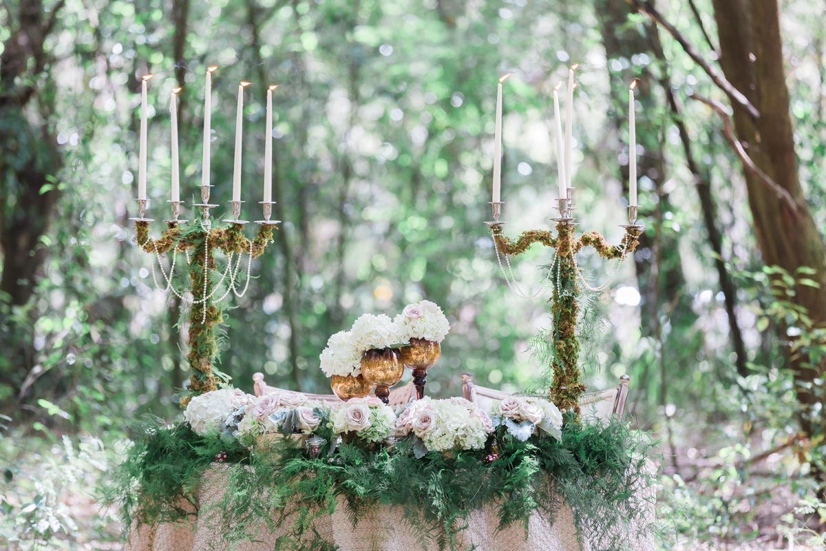 Tampa Wedding and Event planning Services, Sweetheart table, luxury wedding