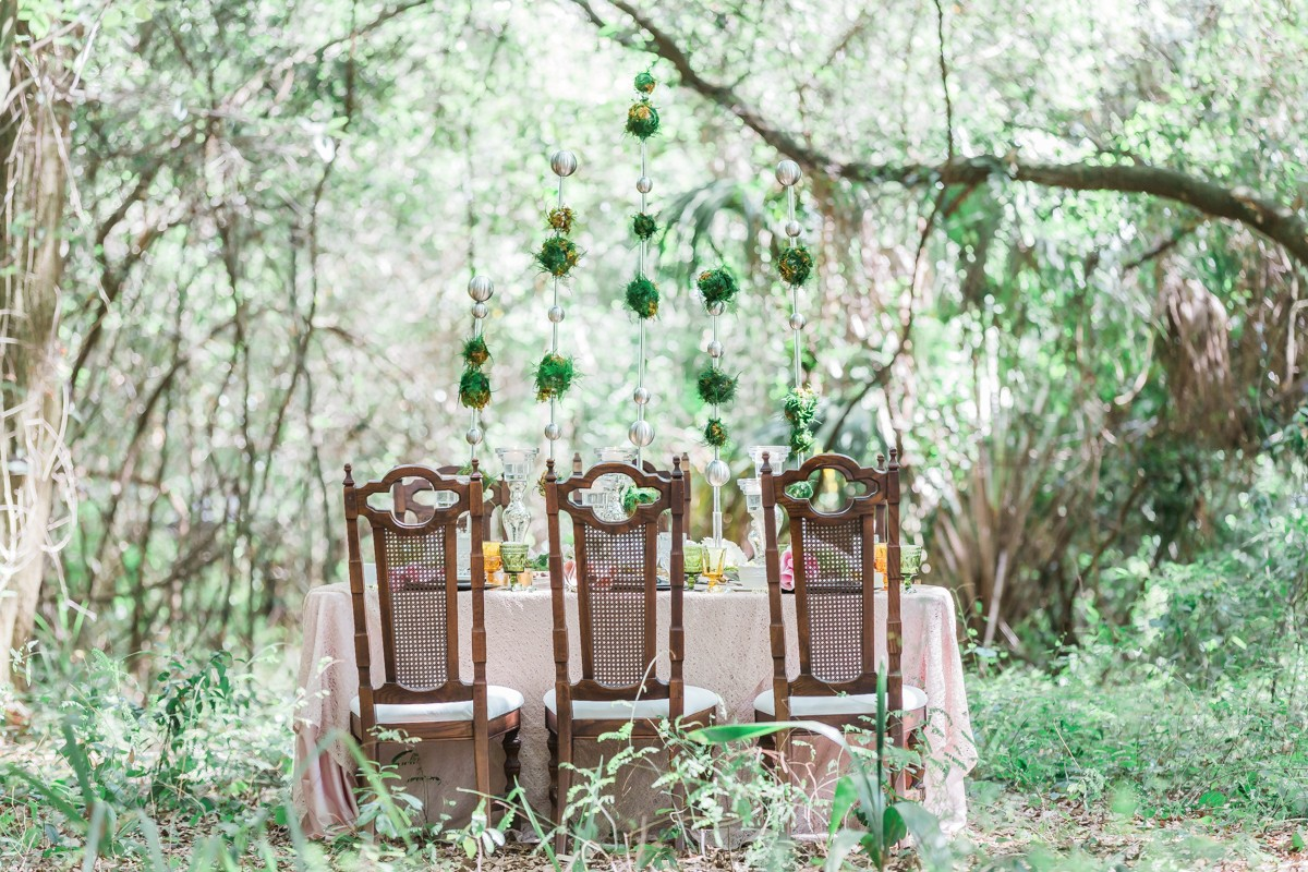 Woodland Wedding, Tampa wedding planner