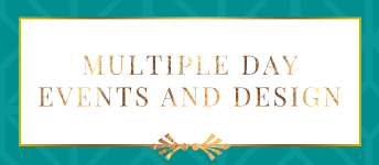 Multiple Day Events, Multiple day wedding in tampa bay