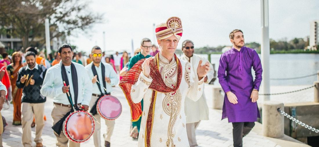 Guyanese American wedding, Indian wedding, Tampa wedding planner, Wedding planner Tampa, Indian wedding planner, Tampa indian wedding planner, Baraat