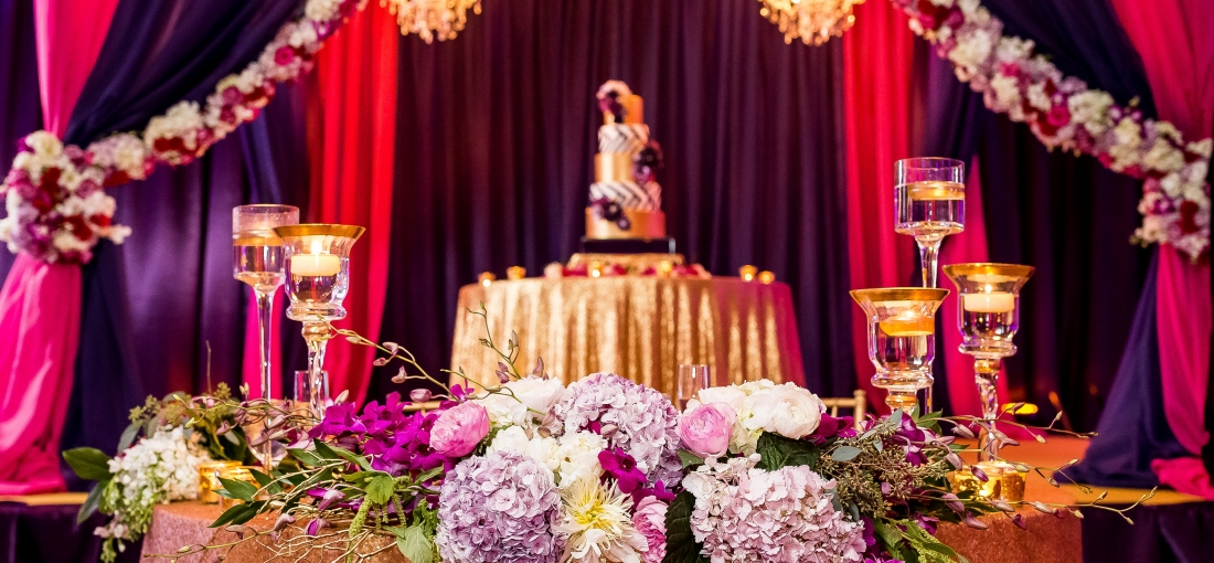 Guyanese American wedding, Indian wedding, Tampa wedding planner, Wedding planner Tampa, Indian wedding planner, Tampa indian wedding planner, Mandap, Sweetheart Table