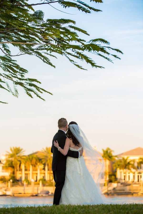 First look, Tampa weddings, Tampa wedding planner, Wedding planner florida, Tampa indian wedding planner, Indian wedding planner, fusion wedding, catholic wedding, le meridien tampa, wedding dress, wedding sunset