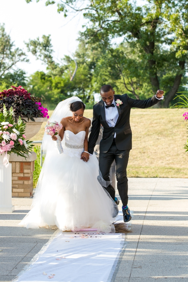 Wedding traditions, Jumping the broom, munaluchi bride, meyer photography, African American weddings, Tampa wedding planner, Orlando, Miami wedding planner, cultural wedding