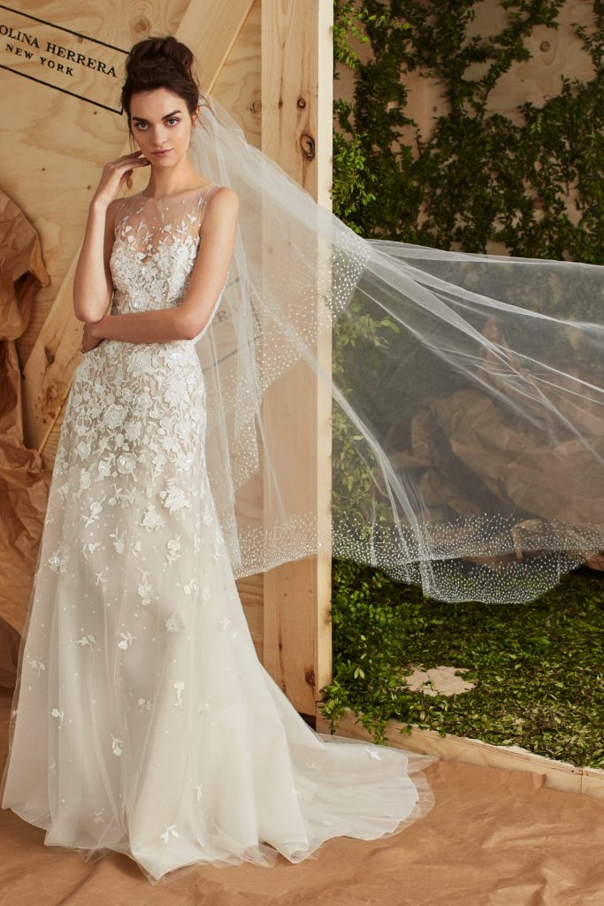 Pea to Tree Events, Tampa bridal gown,Top Wedding Dress Designers,  Miam Bridal gown, Carolina Herrera collection spring and  fall 2017. wedding gown in Tampa. Wedding planner tampa, Tampa wedding planner, Miami wedding planner